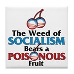 The Wead of Socialism Tile Coaster