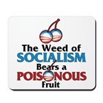 The Wead of Socialism Mousepad
