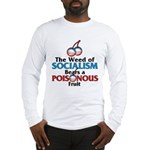 The Wead of Socialism Long Sleeve T-Shirt