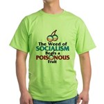 The Wead of Socialism Green T-Shirt