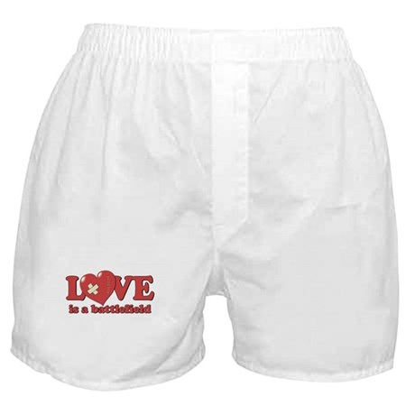 Love is a Battlefield Boxer Shorts