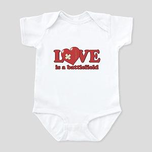 Love is a Battlefield Infant Bodysuit