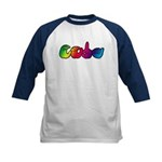 Rainbow CODA Kids Baseball Jersey