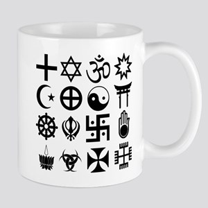 Coexist White Mug Mugs