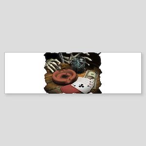 POKER HANDS! Bumper Sticker