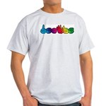 Rainbow DEAFIE Ash Grey T-Shirt