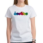 Rainbow DEAFIE Women's T-Shirt