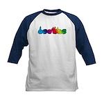 Rainbow DEAFIE Kids Baseball Jersey