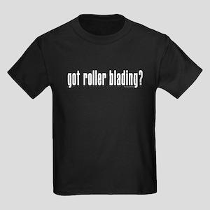 got blades? Kids Dark T-Shirt