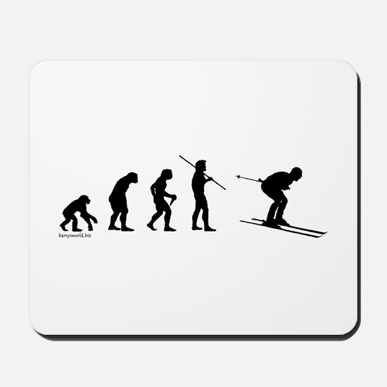Ski Evolution Mousepad