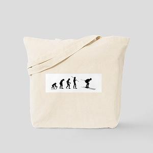Ski Evolution Tote Bag