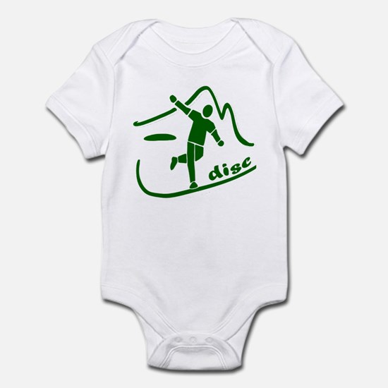 Disc Launch Green Infant Bodysuit