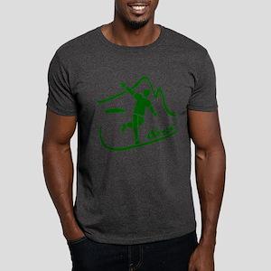 Disc Launch Green Dark T-Shirt