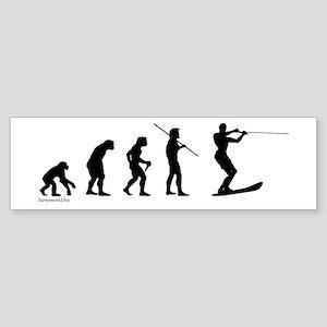 Water Ski Evolution Bumper Sticker (10 pk)