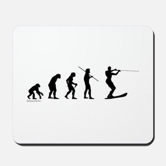 Water Ski Evolution Mousepad