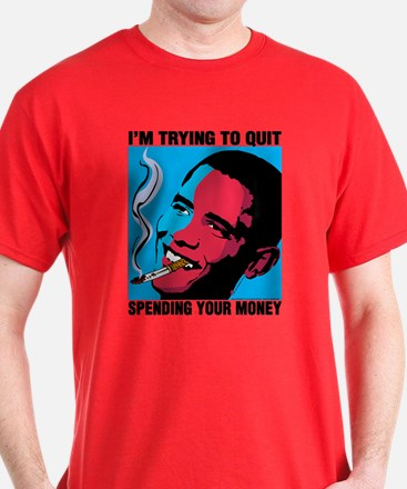 Obama Trying To Quit T-Shirt