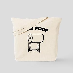 Girls Poop Tote Bag