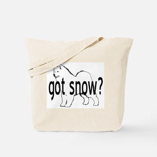 Samoyed- got snow? Tote Bag