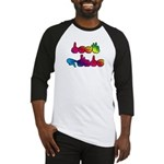 Rainbow DEAF PRIDE Baseball Jersey