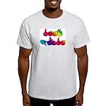 Rainbow DEAF PRIDE Ash Grey T-Shirt
