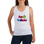 Rainbow DEAF PRIDE Women's Tank Top