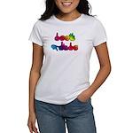 Rainbow DEAF PRIDE Women's T-Shirt