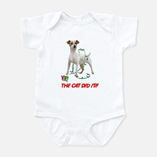 THE CAT DID IT!! Infant Bodysuit