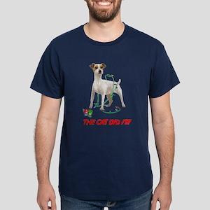 THE CAT DID IT!! Dark T-Shirt