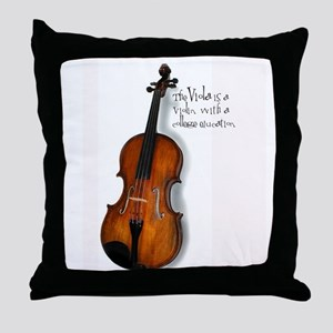 Viola Gifts Throw Pillow