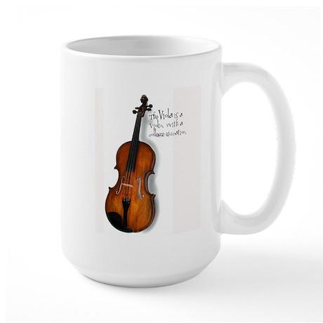 Viola Gifts Large Mug