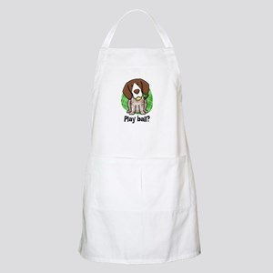 Play Ball German Shorthair BBQ Apron