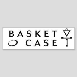 Basket Case Bumper Sticker