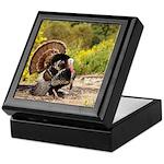 Wild Turkey Gobbler Keepsake Box