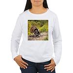 Wild Turkey Gobbler Women's Long Sleeve T-Shirt