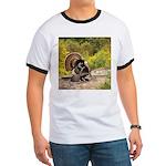 Wild Turkey Gobbler Ringer T