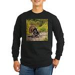 Wild Turkey Gobbler Long Sleeve Dark T-Shirt