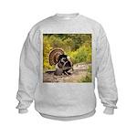 Wild Turkey Gobbler Kids Sweatshirt