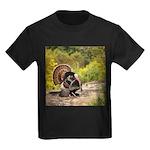 Wild Turkey Gobbler Kids Dark T-Shirt