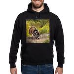 Wild Turkey Gobbler Hoodie (dark)