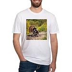 Wild Turkey Gobbler Fitted T-Shirt