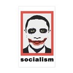 Obama Socialism Joker Rectangle Sticker