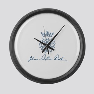 Bach to the Beach Large Wall Clock