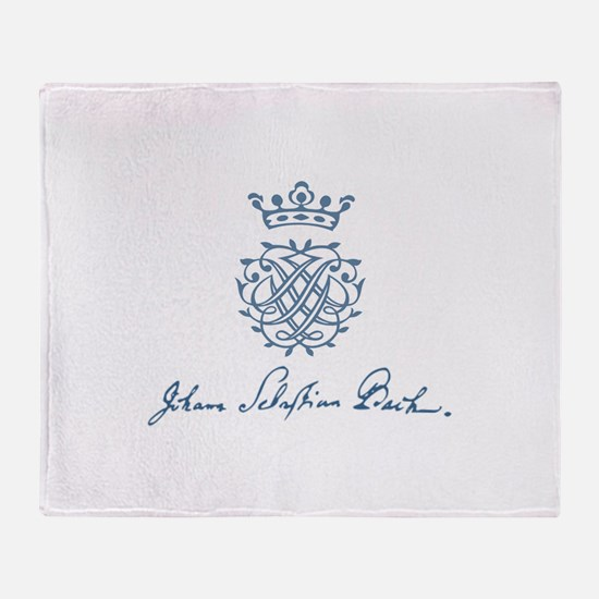 Bach to the Beach Throw Blanket