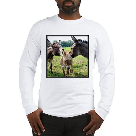 Miniature Donkey Family Long Sleeve T-Shirt