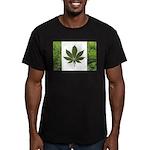 Legalize Marijuana Cannabis F Men's Fitted T-Shirt