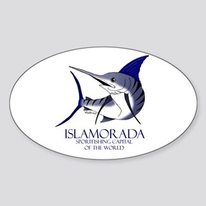 Islamorada Oval Sticker
