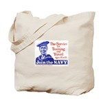 Join The Navy Tote Bag