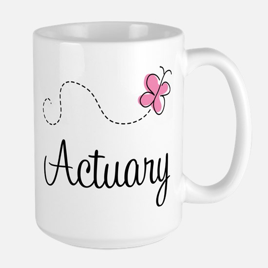 Cute Actuary Large Mug