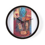 Chess art Wall Clock
