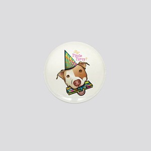 Pittie Party Mini Button